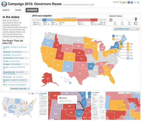 2010 Campaign: Congressional Races